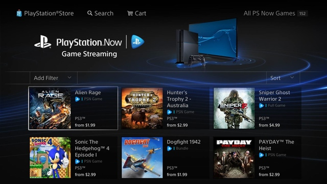 PS Now Store